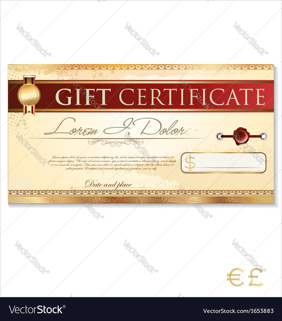 What It Is A Gift Certificate Template?