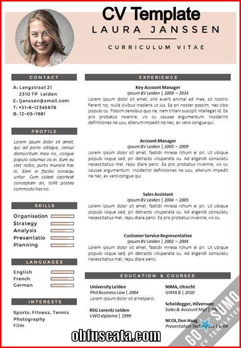 What Is A Cv Template