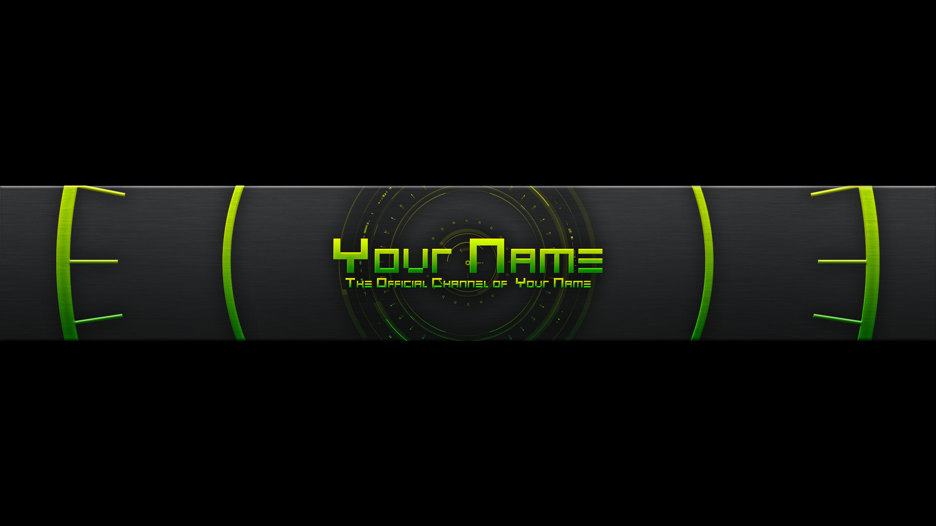 Banner: What Is A Youtube Banner Template?