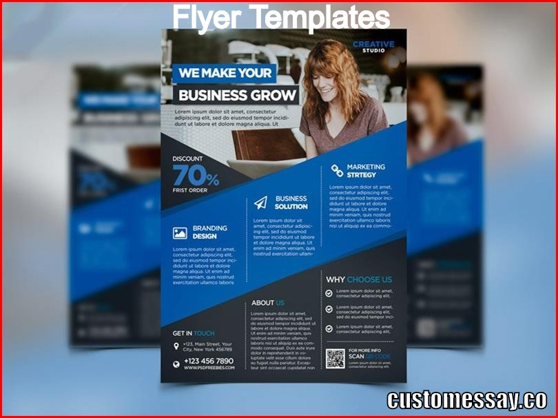 what is a flyer template
